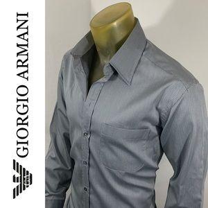Giorgio Armani Shinny Luxury Cotton Shirt